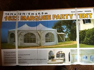 16 X 22 party tent