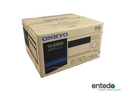 Onkyo TX-RZ830 9.2 Heimkino AV-Receiver Verstärker THX HDCP 2.2 Atmos Schwarz