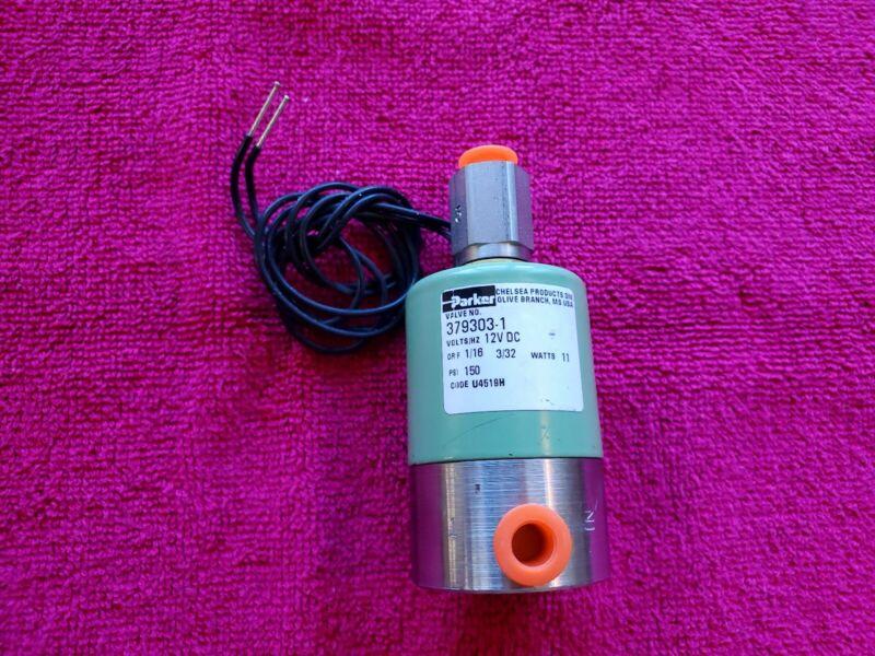 Parker Chelsea 379303-1 Solenoid 12V DC