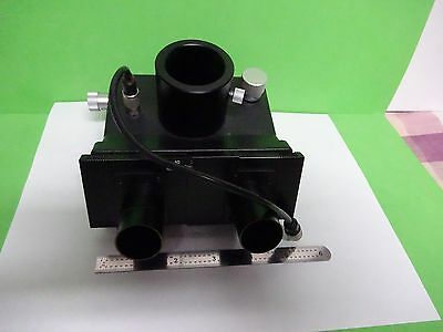 Microscope Part Leitz Germany Head 512737 Ortholux Ii Optics As Is Biny1-05