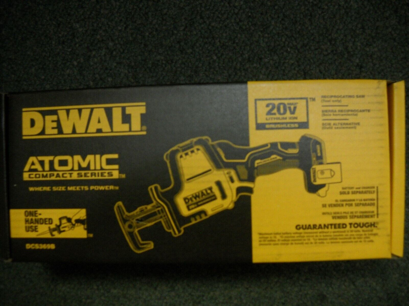DeWalt DCS369B ATOMIC 20V MAX Li-Ion Reciprocating Saw Brush