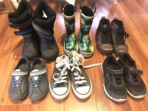 Boys assorted shoes