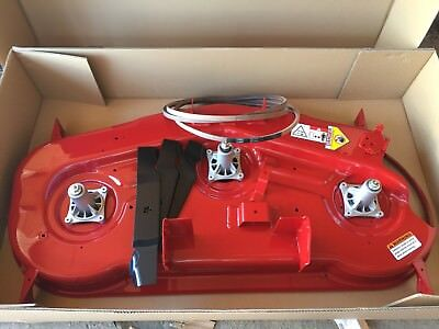 """CRAFTSMAN NEW ZERO TURN RZ 5424 54"""" DECK KIT 187292 187256 BLADES 114557 , used for sale  Shipping to Canada"""