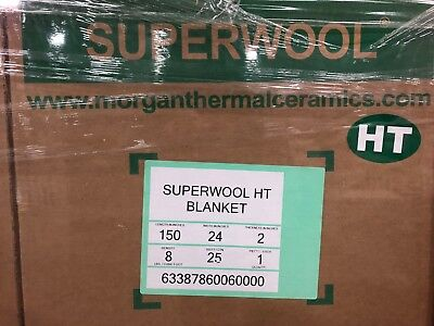 Superwool Non-ceramic Fiber Blanket 2 8 Dens. Superwool Ht
