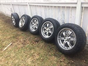 """20"""" Tires and rims for sale (5)"""