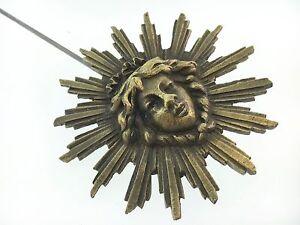 French Clock Pendulum Large Sunburst  3