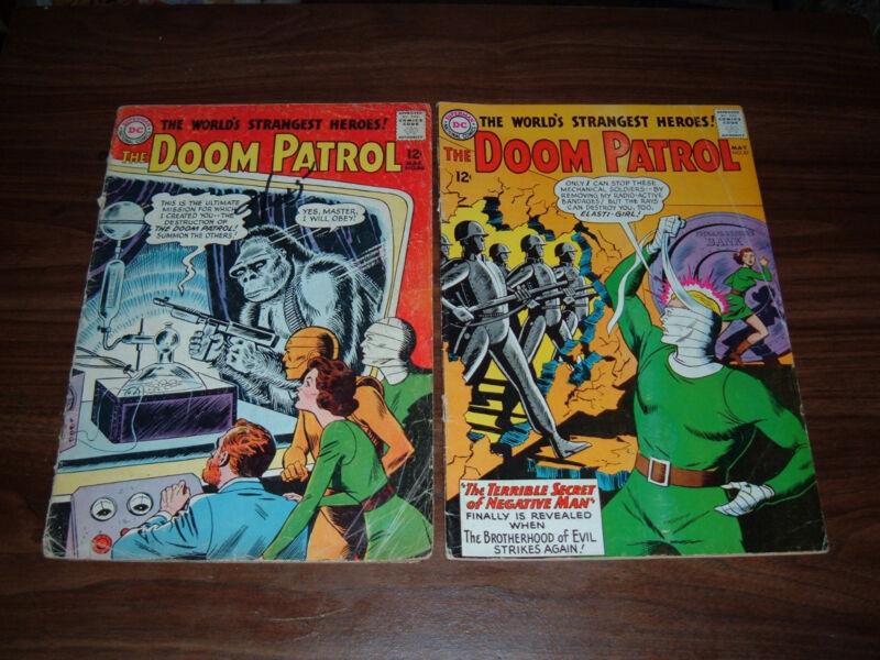 Doom Patrol 86-116  many higher grade---17 total comics