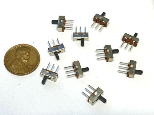 10 Pieces Micro Miniature PCB Slide SWITCH SWITCHES PCB Tactile small wd b19