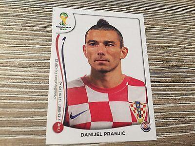Panini Brasil Brazil 2014 Wc - No. 56x Danijel Pranjic Update Sticker