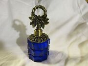 Cobalt Perfume Bottle