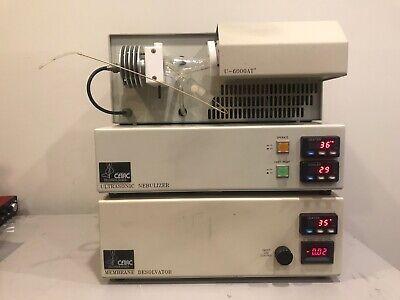 Nice Cetac U6000at Ultrasonic Membrane W Mdx-200 Desolvator