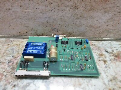 Agie 120 Edm Board 800485 Mjg 8004 B W Switch Regulator Srn 5015-s Cnc 613932.3