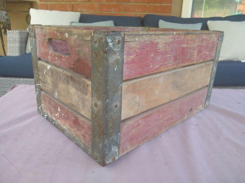 Vintage Arden Farms Co Crate 1953