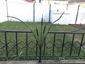 Wrought Iron Fence and Archway