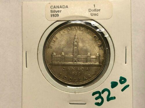1939 - Canada - 1 Dollar - UNC