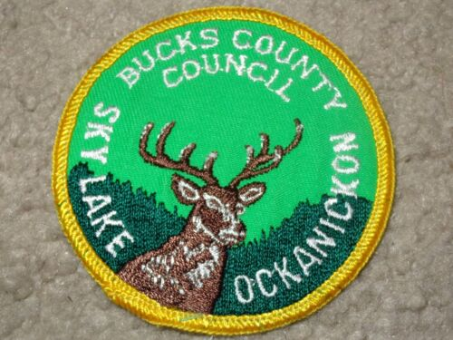 Boy Scout Camp Sky Lake Ockanickon Bucks County Pennsylvania 33 OA Council Patch