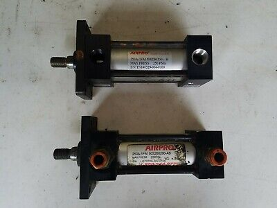 Airpro 250a-1fa150s2b0200-ab Hydraulic Cylinder Lot Of 2