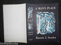 Original Vintage Tindall Dustjacket (only) For A Man's Place By Ramon J Sender -  - ebay.co.uk