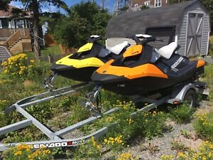 **Quick sale** 2015 Seadoo sparks with trailer