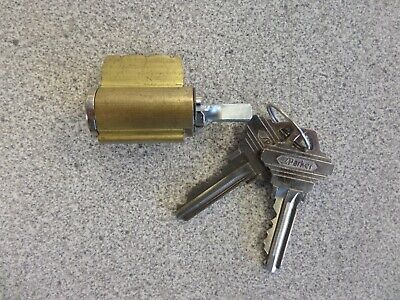 S Parker 6 Pin Sc1 Keyway Lever Lock Cylinder Us26d Finish