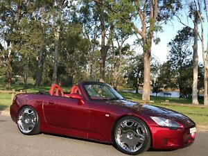 2002 Honda S2000 Convertible Series2 Low Kms Candy Red Moorebank Liverpool Area Preview
