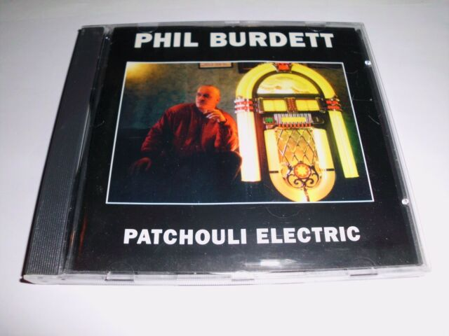 Phil Burdett -  Patchouli Electric - CD nicht OVP