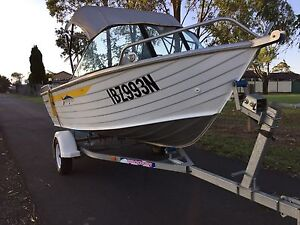 2006 Brooker boat 410 with 2006 Yamaha  40Hp Campbelltown Campbelltown Area Preview