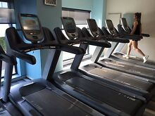 Precor treadmills with P80 fully interactive screen/ tv Baulkham Hills The Hills District Preview