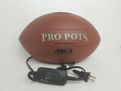 Football Slow Cooker Crock Pot Dip Warmer 1.5 QT Nacho Party Bowl Superbowl Chip