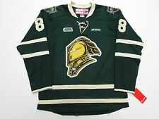 PATRICK KANE OHL LONDON KNIGHTS GREEN CCM PREMIER 7185 HOCKEY JERSEY