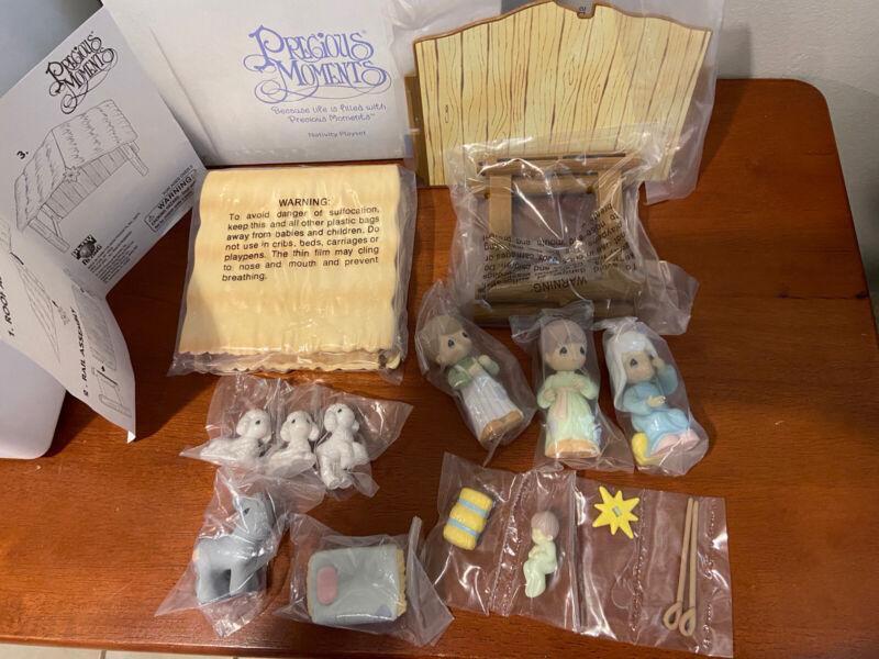 Precious Moments Nativity Playset New in Box