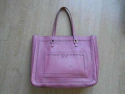 Anya Hindmarch Mauve Pink Leather Shoulder Bag
