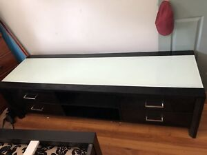 Entertainment console & matching coffee table