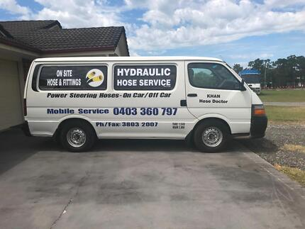 Business for sale.Hydraulic Hose Service P/L.