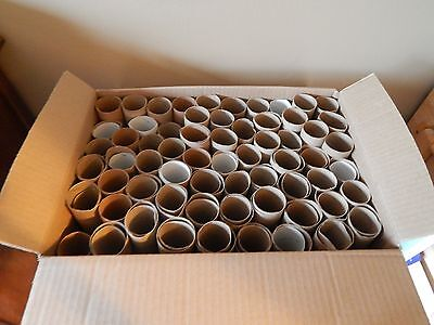 lot of 150 cardboard tubes clean empty toilet paper rolls crafts school projects