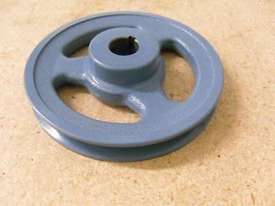 New Pulley Ak61- 1inch Bore 5.95 Diameter Cast Iron 1-groove Sheave Keyway