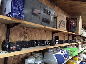 Large selection of used breakers. Starting at $10