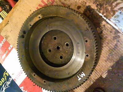 John Deere Mt Tractor Jd Engine Flywheel Good Starter Ring Gear