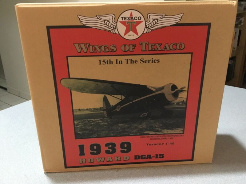 Wings Of Texaco 1939 Howard DGA-15 15th In Series - Texaco #T-49, New In Box