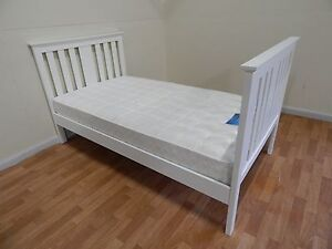 King single white frame + mattress SYDNEY DELIVERY & ASSEMBLY Windsor Hawkesbury Area Preview