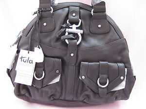 BNWT Fab Large Tula (By Radley) Dark Brown Buttersoft Leather Tote/Shoulder Bag