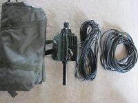 Clansman Antenna Elevated Banda Larga Vhf 30-76 Mhz Kit. Usato In Buono Stato, -  - ebay.it