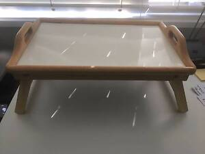 Breakfast/Dinner Serving Tray Table - in good condition Warriewood Pittwater Area Preview