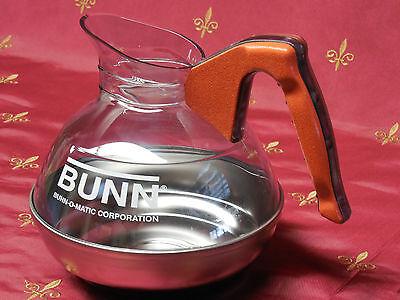 Decanter Coffee Potorange Bunn 06100.0101decaf 64oz Stainless Steel