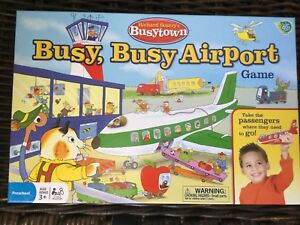 Richard Scarry's Airport Game. Busy, Busy Airport GAME