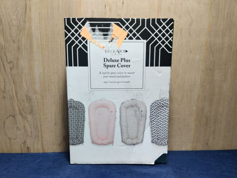 DockATot Deluxe Plus Spare Cover Pristine White