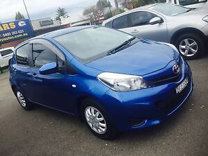 2012 Toyota Yaris Hatchback Automatic Taminda Tamworth City Preview