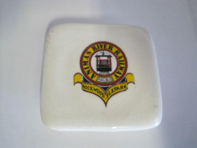 Railroad Magnet Animas River Railway Miniature Hot Plate