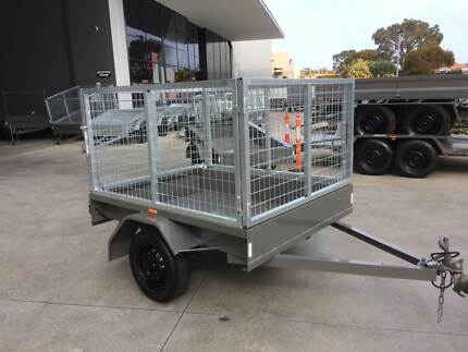 6x4 Caged Trailers from John Papas Trailers, Australian Made. Welshpool Canning Area Preview