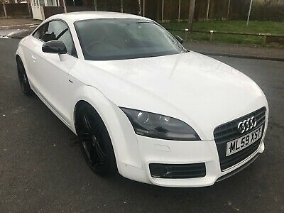 Audi TT - 2.0T FSI, S line Special Edition in White, 2009 – 59 plate